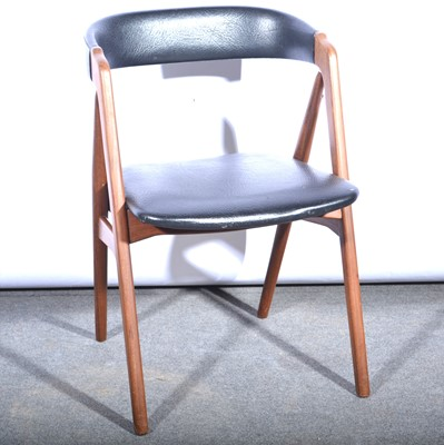 Lot 1063 - 'Model 31' teak arm chair, designed by Kai Kristiansen