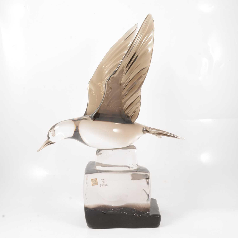 Lot 46 - Licio Zanetti for Murano glass model of a bird