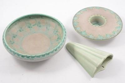 Lot 1012 - Pilkington's Royal Lancastrian, three items of Lapis ware