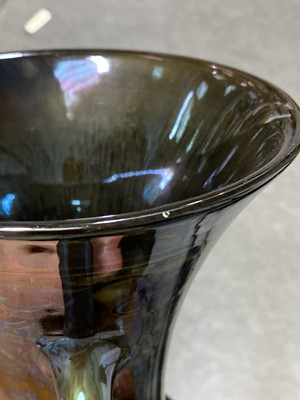 Lot 1008 - Richard Joyce for Pilkington's Royal Lancastrian, a lustre twin handled vase, 1917