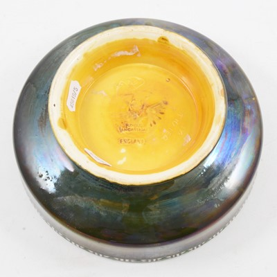 Lot 1007 - Gordon Forsyth for Pilkington's Royal Lancastrian, a lustre pedestal bowl