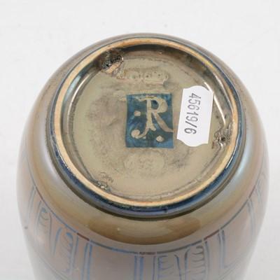 Lot 1009 - Richard Joyce for Pilkington's Royal Lancastrian, a lustre vase for a silver wedding, 1924