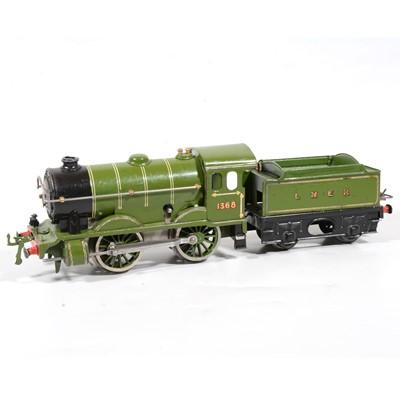 Lot 24 - Hornby O gauge no.1 Special, LNER 0-4-0, 1368, green.