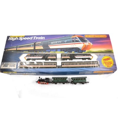 Lot 55 - Hornby OO gauge model railway set High Speed Train, Inter-city