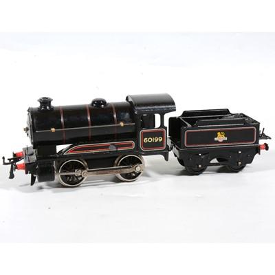 Lot 10 - Hornby O Gauge converted electric type 50 locomotive, BR 0-6-0, black, 60199.