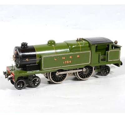 Lot 5 - Hornby O Gauge electric locomotive, no.2 Special, E220, LNER 4-4-2, 1784, green, 20v.