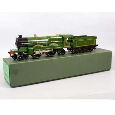 Lot 6 - Hornby O gauge electric model railway locomotive and tender, E320 GWR 4-4-2, 'Caerphilly Castle'