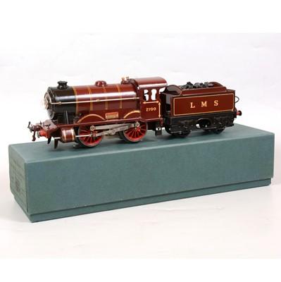 Lot 1 - Hornby O gauge electric locomotive and tender, E120, no.1 Special, LMS 0-4-0