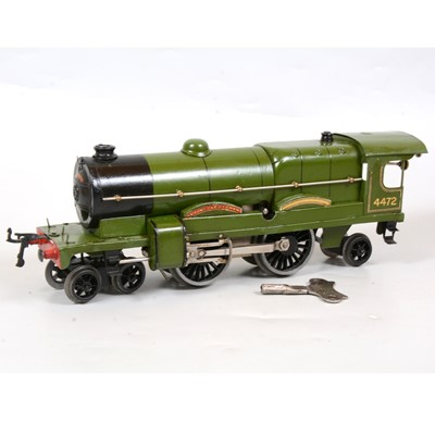 Lot 28 - Hornby O gauge clockwork locomotive, No.3 Special, LNER 4-4-2, 'Flying Scotsman'