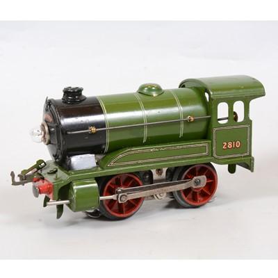 Lot 14 - Hornby O gauge electric model railway tank locomotive, E120, LNER 0-4-0, 2810