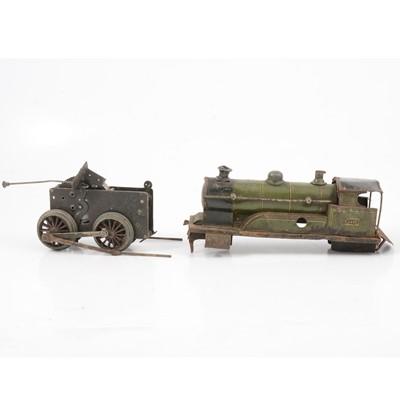 Lot 6 - Bing Germany O gauge model railway clock-work locomotive; 4-6-0 LMS 'Royal Scot'