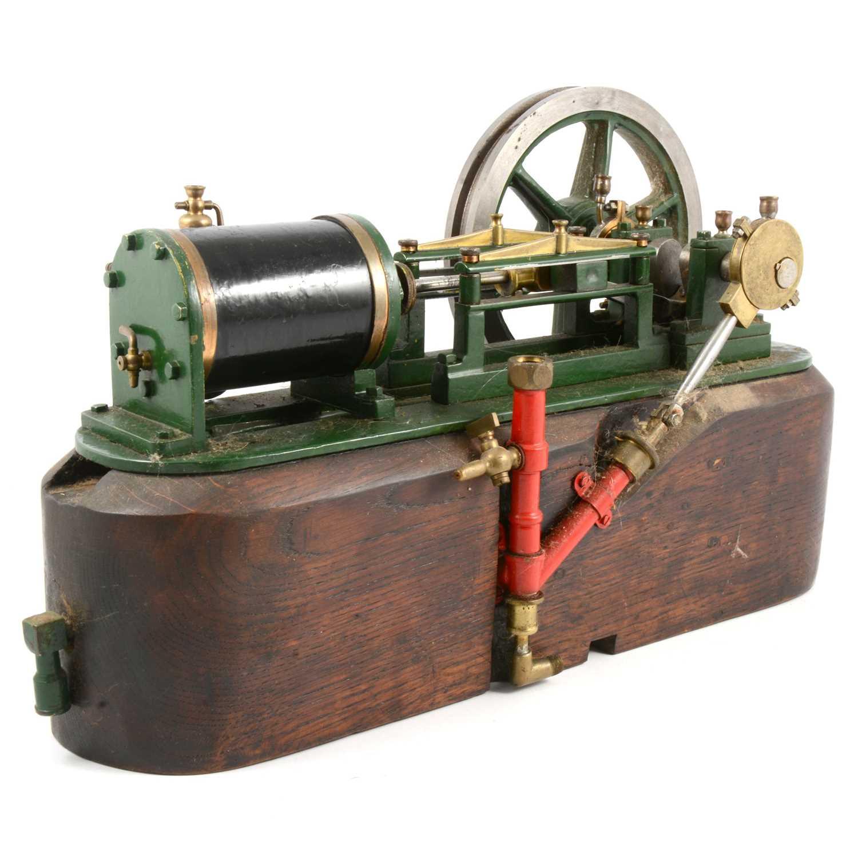 Lot 3 - A well-engineered horizontal live-steam engine