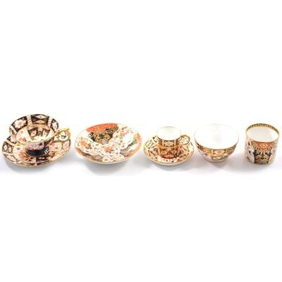 Lot 31 - Royal Crown Derby, Imari pattern tea wares