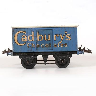 Lot 45 - Hornby O gauge Cadbury's Chocolates, private owners van.