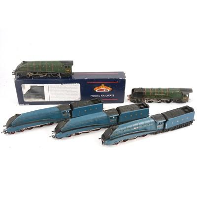 Lot 72 - Six OO gauge model railway locomotives.
