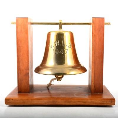 Lot 107 - Ship's bell, VWLS 1947