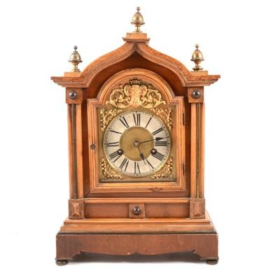 Lot 102 - Haller of Wertemburg 8 Day Ting-Tang strike Mantle Clock