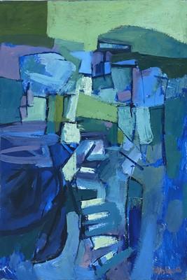 Lot 1120 - Roy Bizley, Untitled landscape, 1963