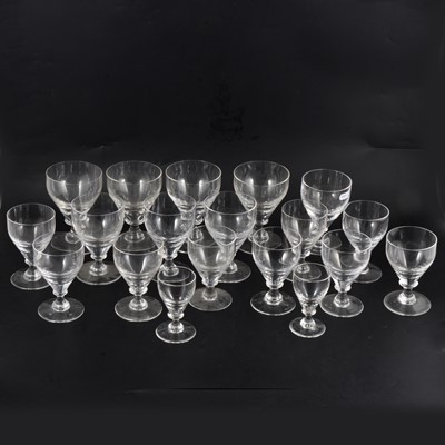 Lot 63 - Collection of table glassware