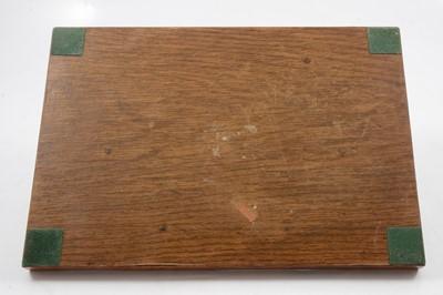 Lot 1024 - Manner of Hagenauer, an Art Deco desk stand