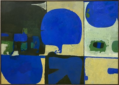 Lot 1128 - Roy Bizley, Untitled abstract from the Terrace series, 1980/81