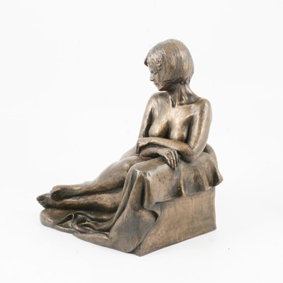 Lot 1096 - Moira Purver, Between Poses, limited edition sculpture