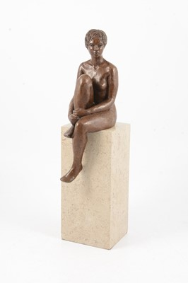 Lot 1097 - Moira Purver, Meditating on Purbeck, a limited edition sculpture