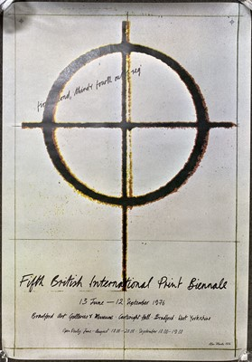 Lot 1048 - Two British International Print Biennale posters