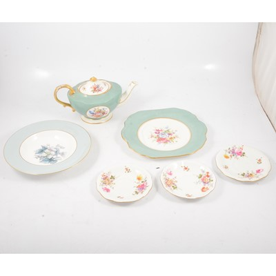 Lot 63 - Three boxes of part tea, coffee and dinner services, including Crown Derby and Worcester