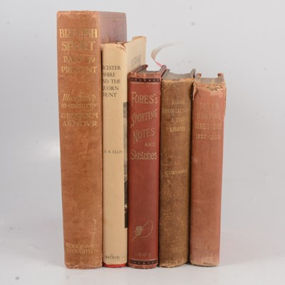 Lot 108A - A collection of hunting books