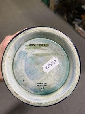 Lot 25 - William Moorcroft, Pomegranate design vase