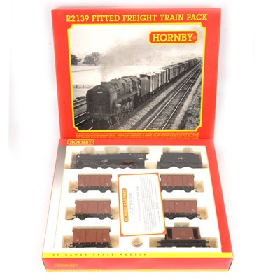 Lot 56 - Hornby OO gauge model railway set R2139 Fitted Freight Train Pack