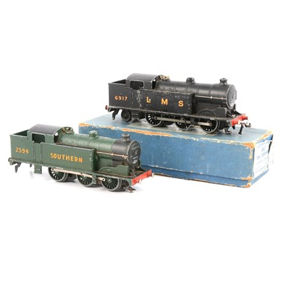 Lot 88 - Two Hornby Dublo OO gauge EDL7 railway locomotives, LMS & Southern.