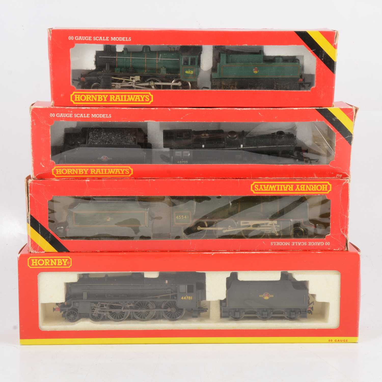 Lot 44 - Four Hornby OO gauge model railway locomotives