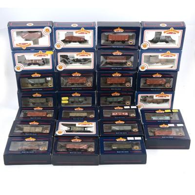 Lot 85 - Twenty-seven boxed Bachmann OO gauge model railway vans and wagons.