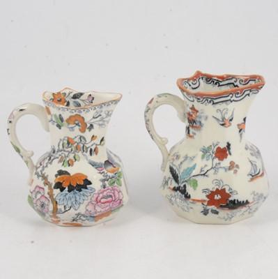 Lot 78 - Two Masons ironstone jugs and Copeland Spode