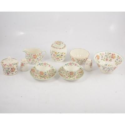 Lot 87 - Minton Haddon Hall tableware.