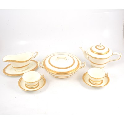 Lot 70 - A Royal Worcester bone china dinner and tea service
