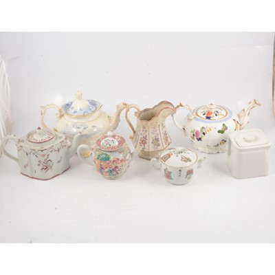 Lot 44 - An interesting collection of teapots