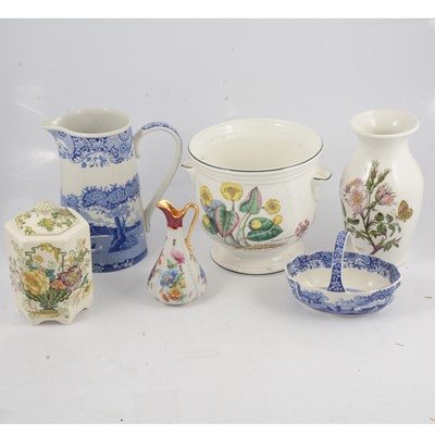 Lot 81 - A collection of decorative china
