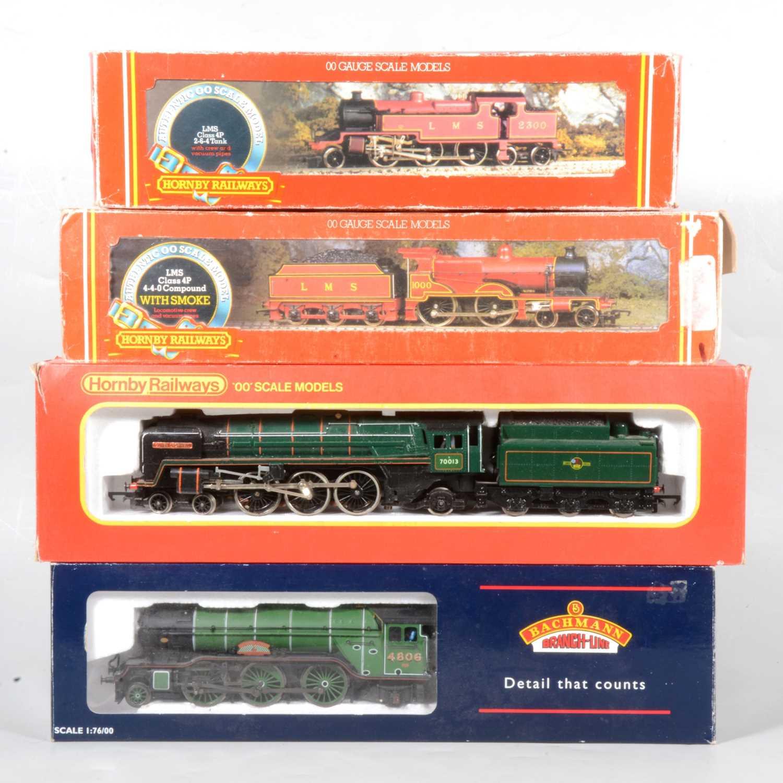 Lot 45 - Four OO gauge model railway locomotives