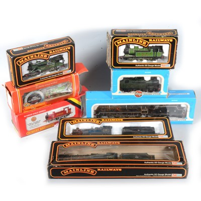 Lot 34 - Eight OO gauge model railway locomotives