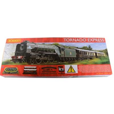 Lot 57 - Hornby OO gauge model railway set, R1225 Tornado Express
