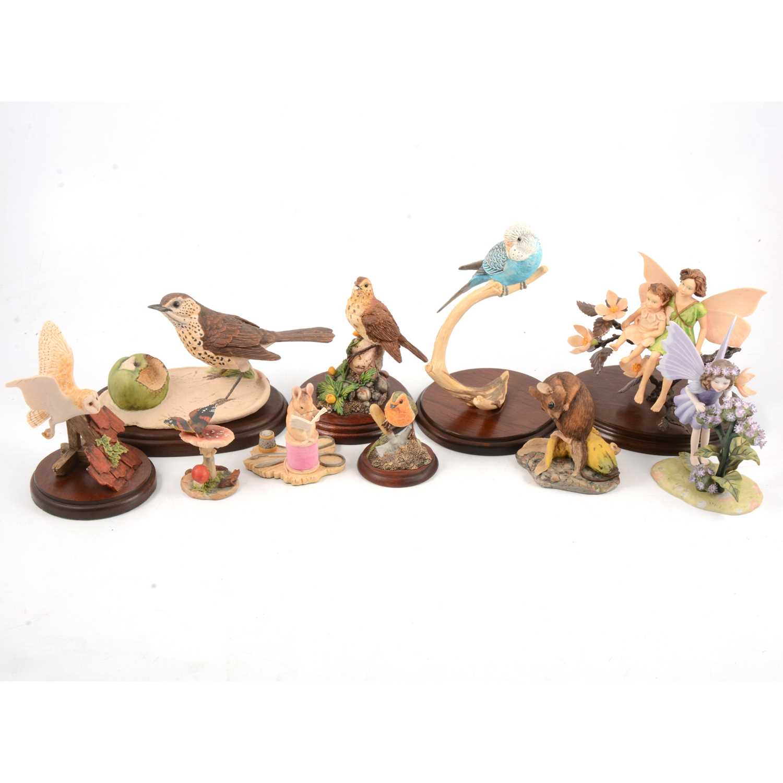 Lot 46 - Border Fine Art and Flower Fairy figures.