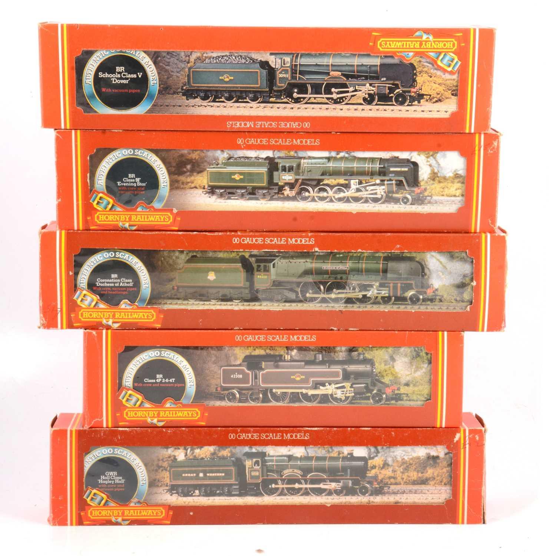 Lot 39 - Five Hornby OO gauge model railway locomotives