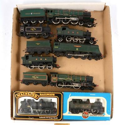 Lot 71 - Seven OO gauge model railway locomotives.
