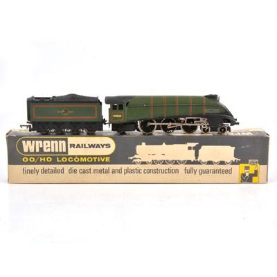 Lot 95 - Wrenn OO gauge model railway locomotive, W2211 4-6-2, BR 'Mallard', 60022, boxed.