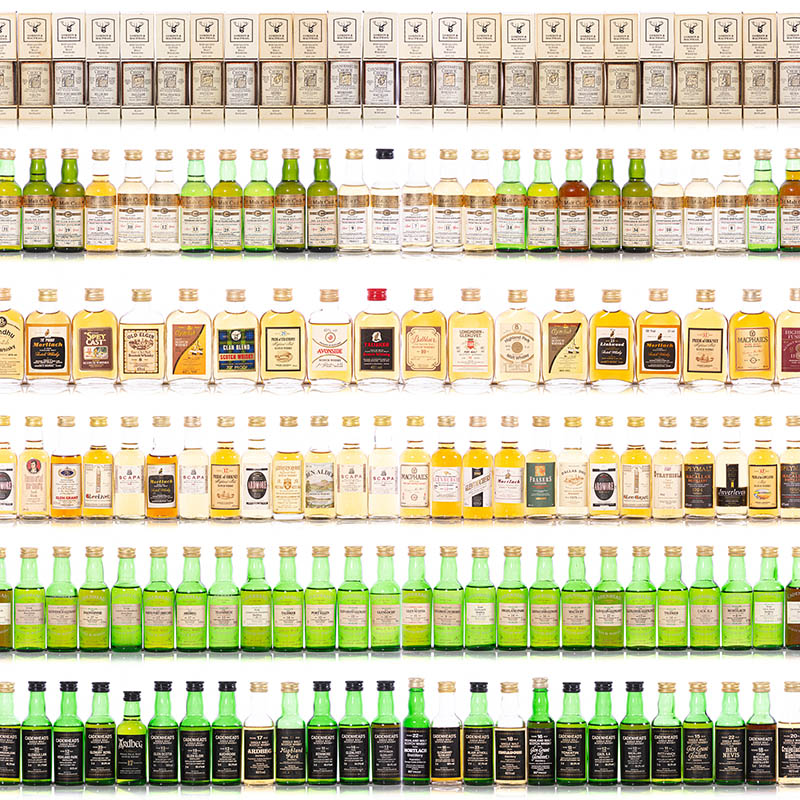 Private Collection of Whisky Miniatures - Timed Online - Part One
